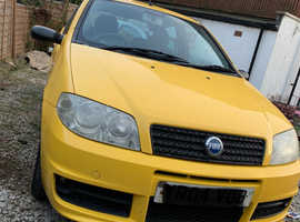 Fiat Punto, 2004 (04) Yellow Hatchback, Manual Petrol, 106,027 miles
