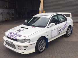 Subaru Impreza, 2008 (08) white saloon, Manual Petrol, 123 miles