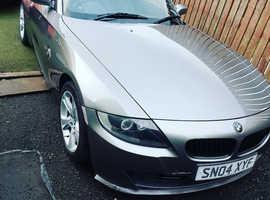 BMW Z SERIES, 2004 (04) Grey Convertible, Manual Petrol, 80,000 miles