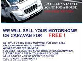 MOTORHOMES WANTED TOP PRICES