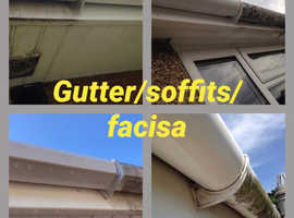 Gutters/fascia/soffits/windows/conservatory cleaning