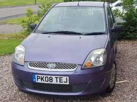 Ford Fiesta, 2008 (08) Purple Hatchback, Manual Petrol, 61,000 miles