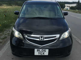 Honda Elysion, 2005 (05) black, MPV, Automatic Petrol, 77000 miles,