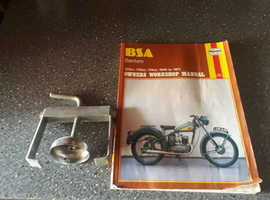 Bsa bantam manuel and clutch tool