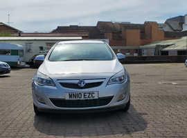 Vauxhall Astra, 2010 (10) Silver Hatchback, Manual Diesel, 115,604 miles