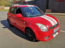 Suzuki Swift, 2006 (06) Red Hatchback, Manual Petrol, 104,000 miles
