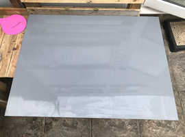 Acrylic/ Perspex sheet grey