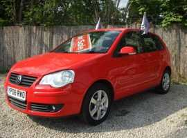 Volkswagen Polo, 2008 (08) Red Hatchback, Manual Petrol, 80,890 miles