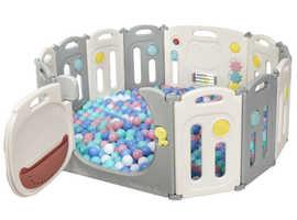 Costway Portable 10+2 Large Panel Toddler Playpen