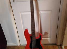 2 bass guitars like new