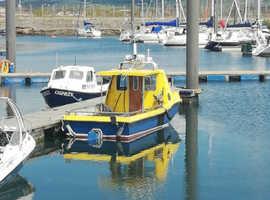 Fast worker 24 fishing boat