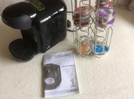 Bosch tassimo pod coffee machine plus pod holder