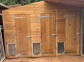 Triple Kennel Block £2200