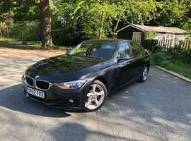 BMW 3 Series, 2012 (62) Black Saloon, Manual Diesel, 151,000 miles