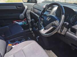 Honda CR-V, 2007 (07) Black Hatchback, Manual Diesel, 15,500 miles