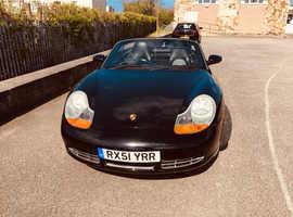 Porsche Boxster, 2001 (51) Black Convertible, Automatic Petrol, 67,000 miles