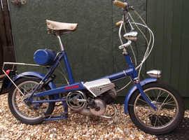 Raleigh wisp moped.