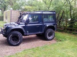 Land Rover DEFENDER 90, 2003 (03) Blue 4x4, Manual Diesel, 156,987 miles