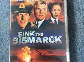 Unopened Sink the Bismarck DVD