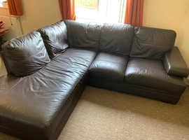 Next corner sofa and arm chair