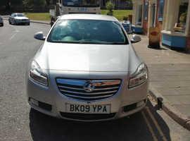 Vauxhall Insignia, 2009 (09) Silver Hatchback, Manual Diesel, 106,000 miles