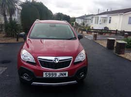 Vauxhall Mokka, 2013 (62) Red Hatchback, Manual Diesel, 56,000 miles