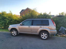 Nissan X-TRAIL, 2005 (05) Silver Estate, Manual Diesel, 18,700 miles
