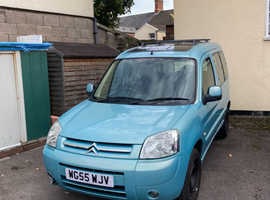 Citroen Berlingo, 2005 (55) Blue Estate, Manual Diesel, 75,000 miles
