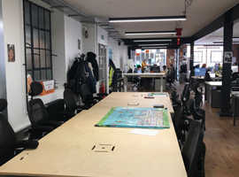 10 desks available to rent in office on Exmouth Market