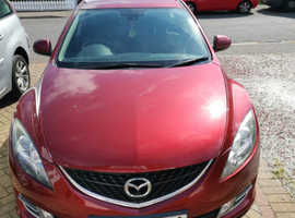 Mazda MAZDA 6, 2009 (09) Red Estate, Manual Petrol, 139,600 miles