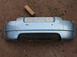 1999 - 2006 AUDI TT MK1 3.2 QUATTRO REAR BUMPER W/ HONEYCOMB DIFFUSER GENUINE