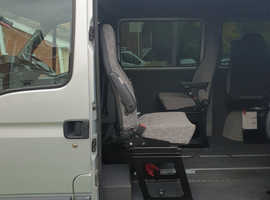 360 degree chair with seatbelt ideal for campervan.