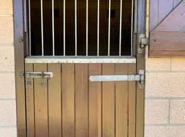 Top Stable door galvanised grill with brackets
