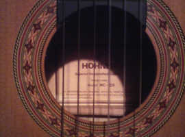 HOHNER MC - 05 CLASSICAL GUITAR WITH GIG BAG EXCELLENT