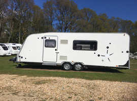 Disabled/wheelchair accessible touring caravan