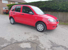 Mazda MAZDA 2, 2004 (04) Red Hatchback, Manual Petrol, 71,000 miles