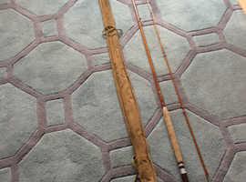 Split cane fly rod