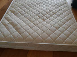 Cot bed mattress, as new, FREE to good home