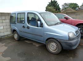 Fiat Doblo, 2005 (05) Blue MPV, Manual Diesel, 110,000 miles