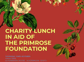 Charity lunch in aid of The Primrose Foundation