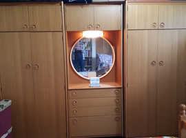 3 piece retro Scheiber wardrobe set