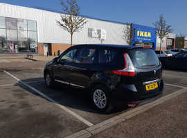 Renault Scenic, 2013 (13) Black MPV, Manual Diesel, 82,569 miles