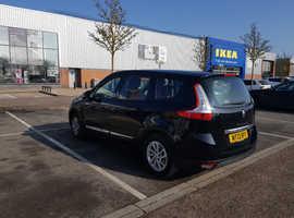 Renault Scenic, 2013 (13) Black MPV, Manual Diesel, 83,348 miles