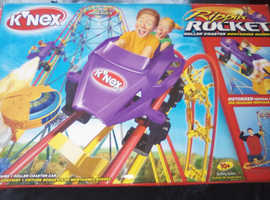 Knex ripping rocket roller coaster fun to build and even more fun to be had when its all put together... Great for all ages young or old.