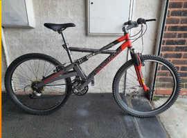 Marin Alpine Trail Bike. 24 speed. 26 inch Wheels.