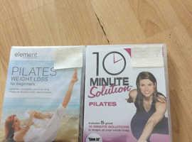 2 New Pilate dvds