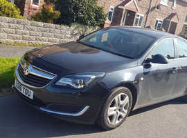 Vauxhall Insignia, 2016 (16) Black Hatchback, Automatic Diesel, 44,300 miles