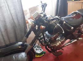 Jinlun jl 125 cruiser bike CORNWALL