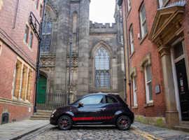 Fiat 500 Sport Black Hatchback 1.2 Petrol £30 Road Tax!