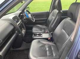 Honda CR-V, 2004 (54) Blue Estate, Automatic Petrol, 156,000 miles